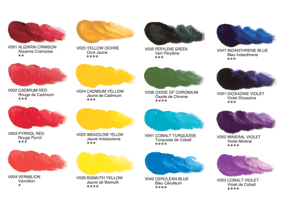 Bob Ross Paint Color Names